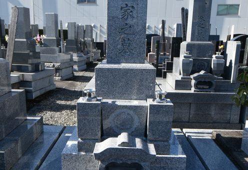 墓石施工写真(和型墓石)